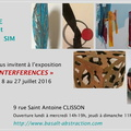 "Exposition ""Interferences"" Clisson 2016"
